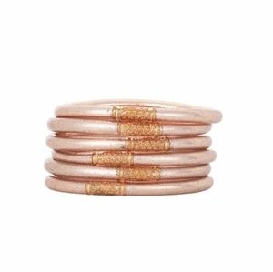 Champagne All Weather Bangles® - Serenity Prayer
